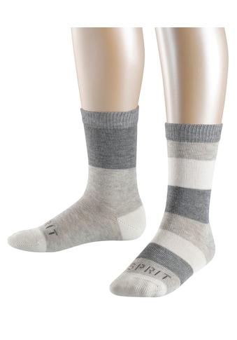 Esprit Socken »Block Stripe 2-Pack«, (2 Paar), mit hohem Baumwollanteil kaufen