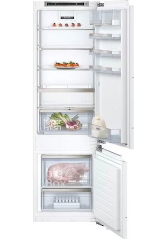 SIEMENS Einbaukühlgefrierkombination iQ500, 177,2 cm hoch, 55,8 cm breit kaufen