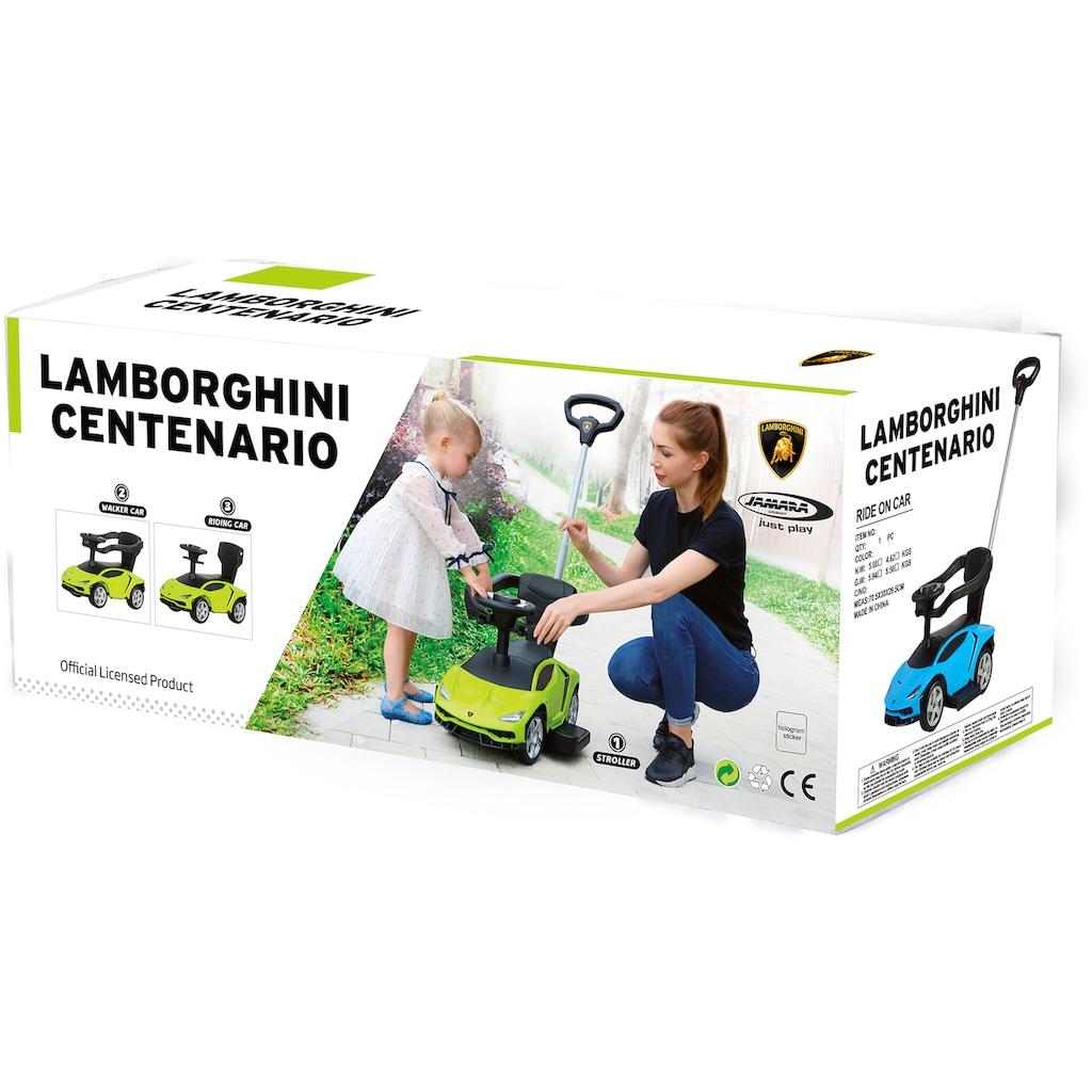 Jamara Rutscherauto »JAMARA Kids, Lamborghini Centenario, grün«, mit Sound am Lenkrad