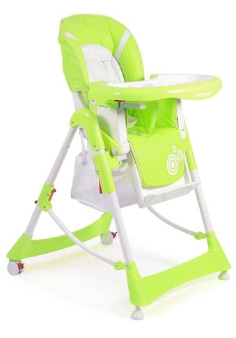 CHIC4BABY Hochstuhl »Enjoy lemongreen«, mit verstellbarer Rückenlehne kaufen