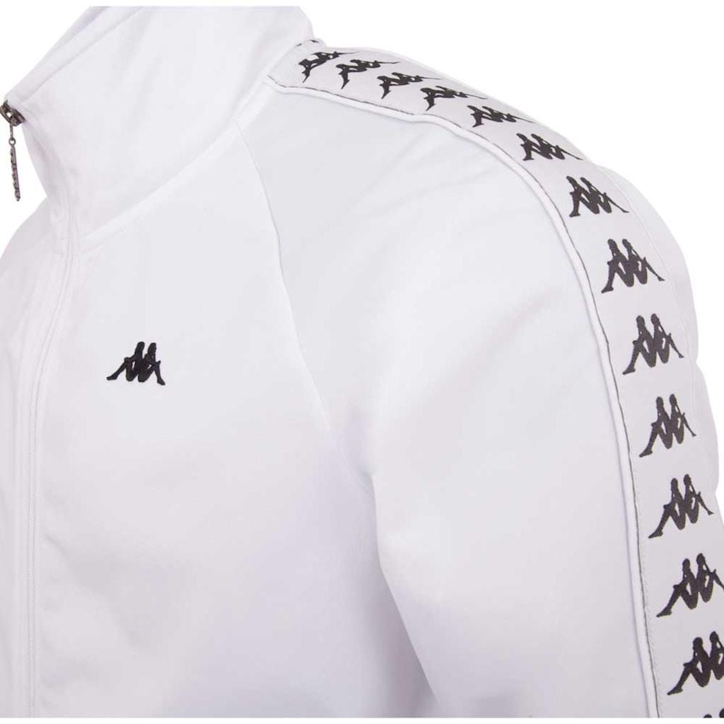 Kappa Trainingsjacke »AUTHENTIC GAMBRU«, mit hochwertigem Logowebband an den Ärmeln