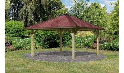 KARIBU Sparset: Pavillon - Set »Holm 1«, BxT: 431x431 cm kaufen