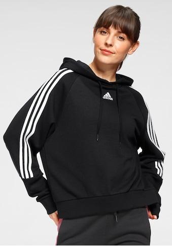 adidas Performance Kapuzensweatshirt »WOMEN 3-STRIPES HOODIE« kaufen
