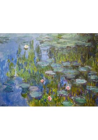 Home affaire Kunstdruck »MONET / Seerosen«, (auf Leinwand 80/3,5/60 cm) kaufen