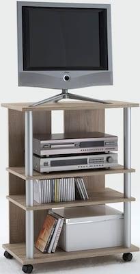 TV-Regal aus Holzdekor