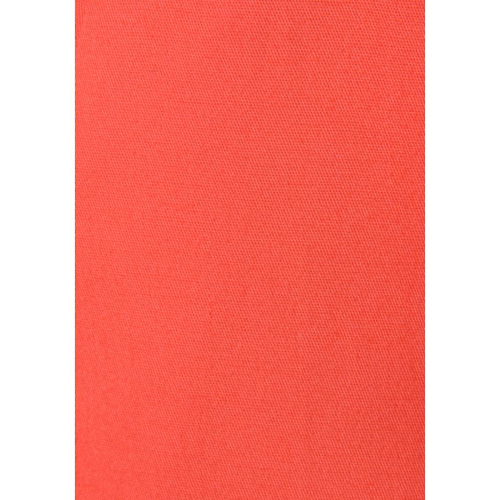 Vivance Chinohose, (mit Gürtel in Lederoptik), in klassischer Basic-Form
