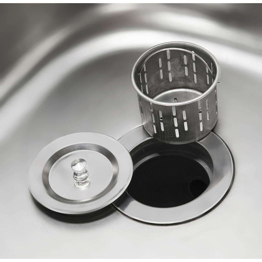 HANSE GARTENLAND Pflanztisch, mit Edelstahlspüle und Wasserhahn, BxTxH: 90x46x91 cm