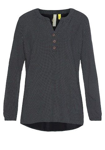 Alife & Kickin Druckbluse »DaisyAK«, süße Bluse aus reiner Viskose mit Allover-Print kaufen