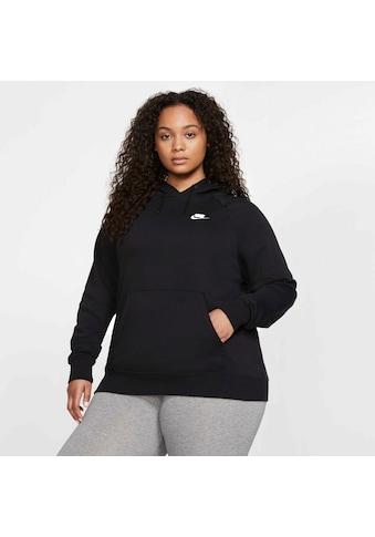 Nike Sportswear Kapuzensweatshirt »W NSW ESSNTL HOODY PO FLC PLUS« kaufen