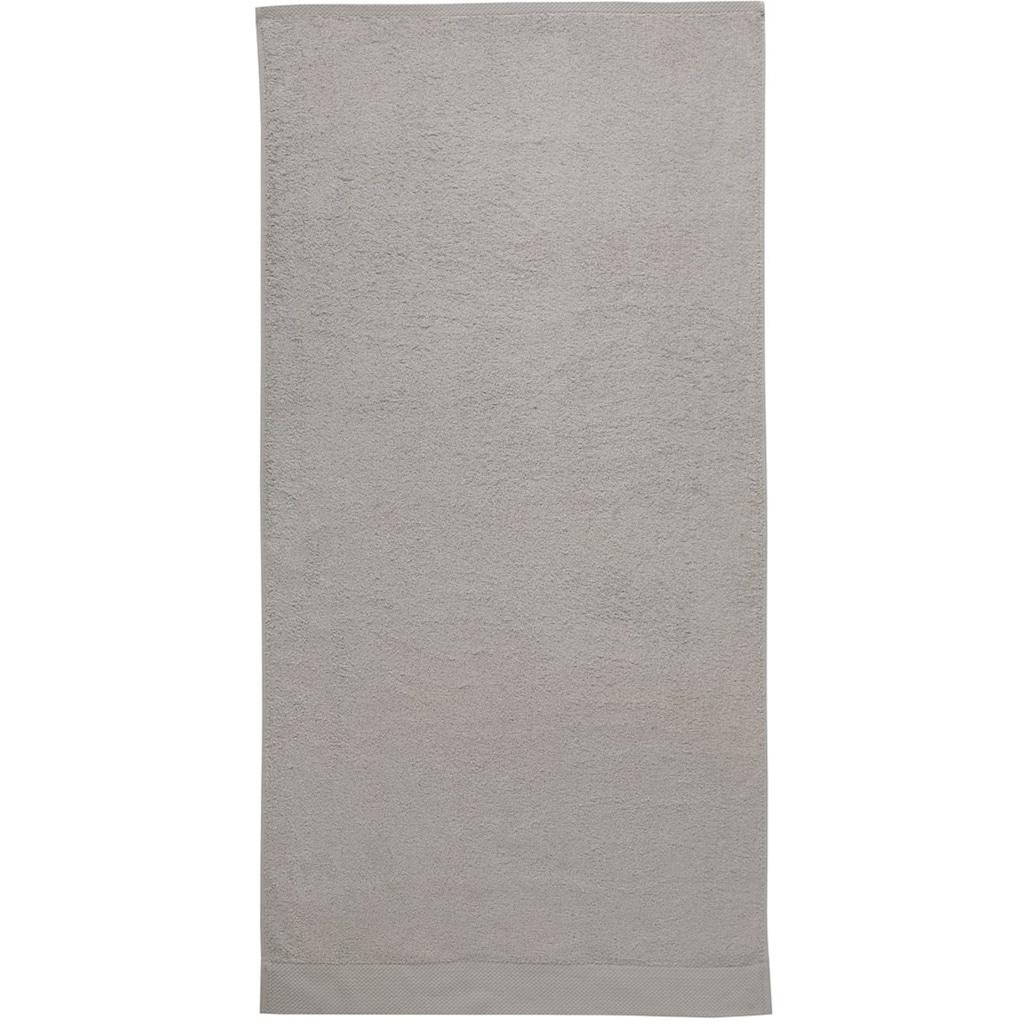 Seahorse Handtuch Set »Pure«, mit Strukturbordüre