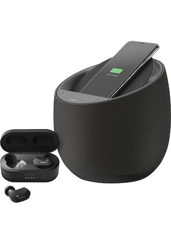 Belkin Smart Speaker »Soundform Elite«, (WLAN, Bluetooth, Google Assistant, drahtloses... kaufen