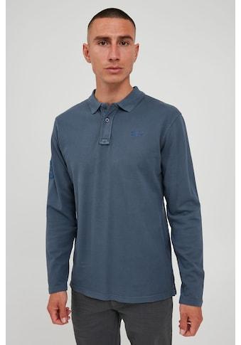 Blend Langarm-Poloshirt »Dahoud«, Longsleeve aus 100% Baumwolle kaufen