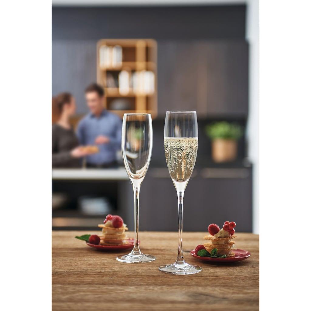 LEONARDO Sektglas »Cheers«, (Set, 6 tlg.), 220 ml, 6-teilig