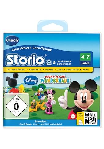 Vtech® Spiel »Spiel »Storio 2, Disney Micky Maus Wunderhaus««, vtech kaufen