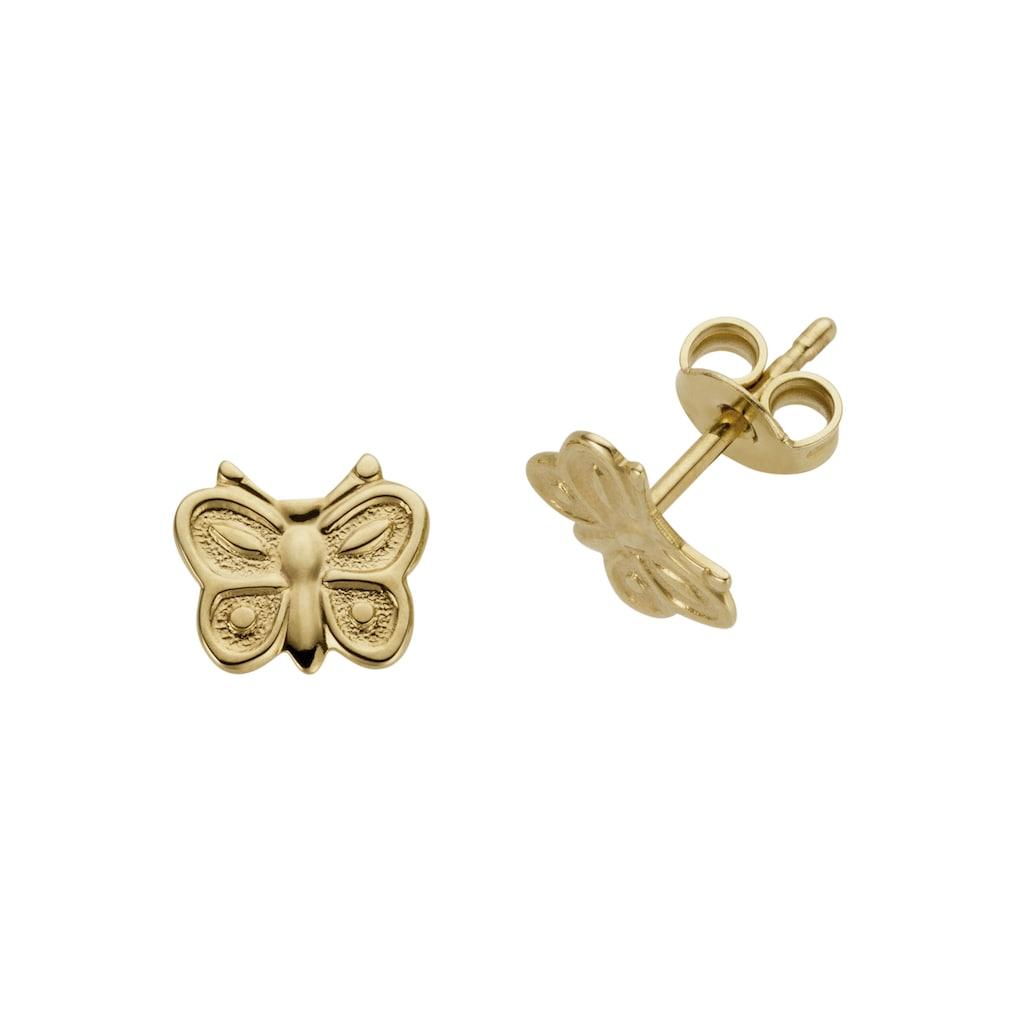Firetti Paar Ohrstecker »Schmetterlinge, in Glanzoptik«, Made in Germany