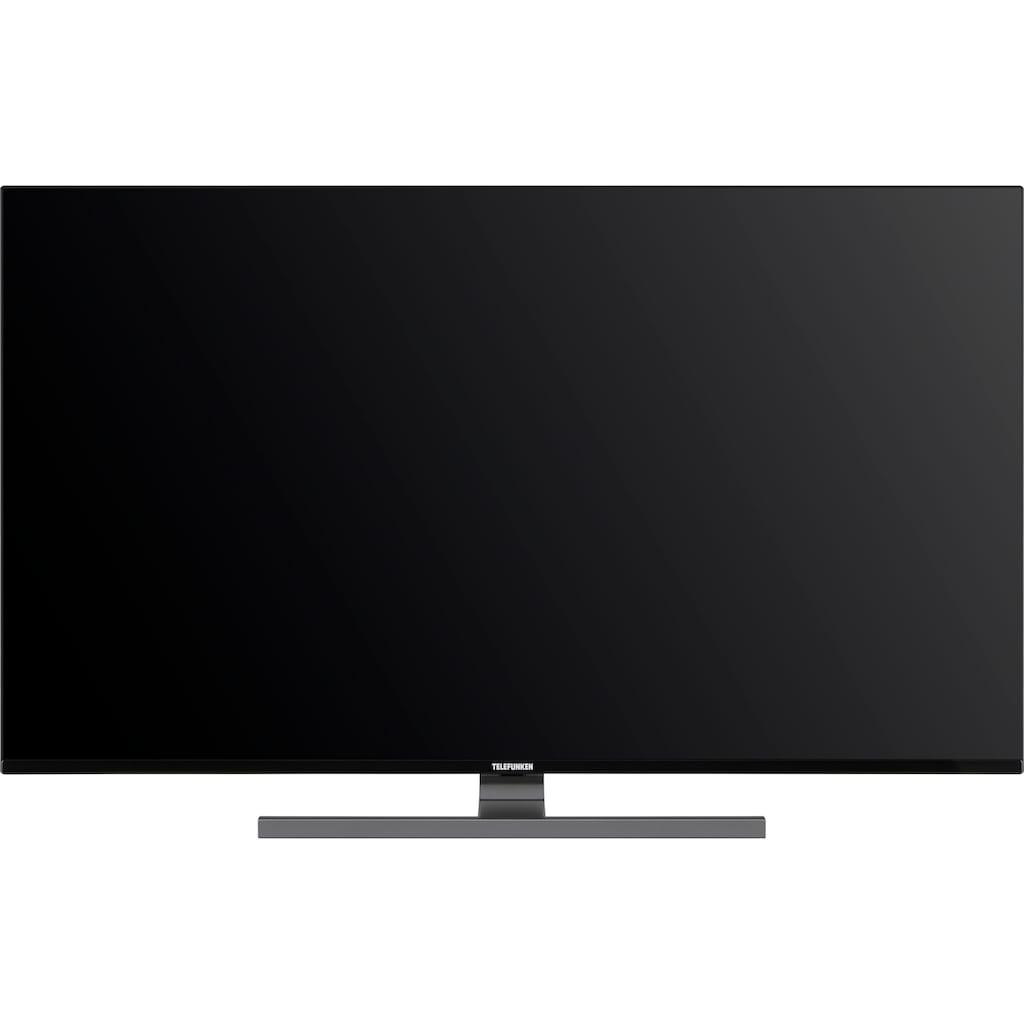 """Telefunken LED-Fernseher »D55V900M4CWH«, 139 cm/55 """", 4K Ultra HD, Smart-TV, 9.0, HDR10, Dolby Vision, 36 Monaten Herstellerlangzeitgarantie"""