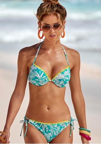 Venice Beach Push-Up-Bikini, mit Kontrasthäkelkante kaufen