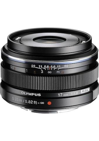 Olympus Weitwinkelobjektiv »M.ZUIKO DIGITAL 17 mm F1.8« kaufen