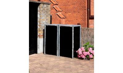 Hide Mülltonnenbox, für 2 x 120 l, schwarz kaufen
