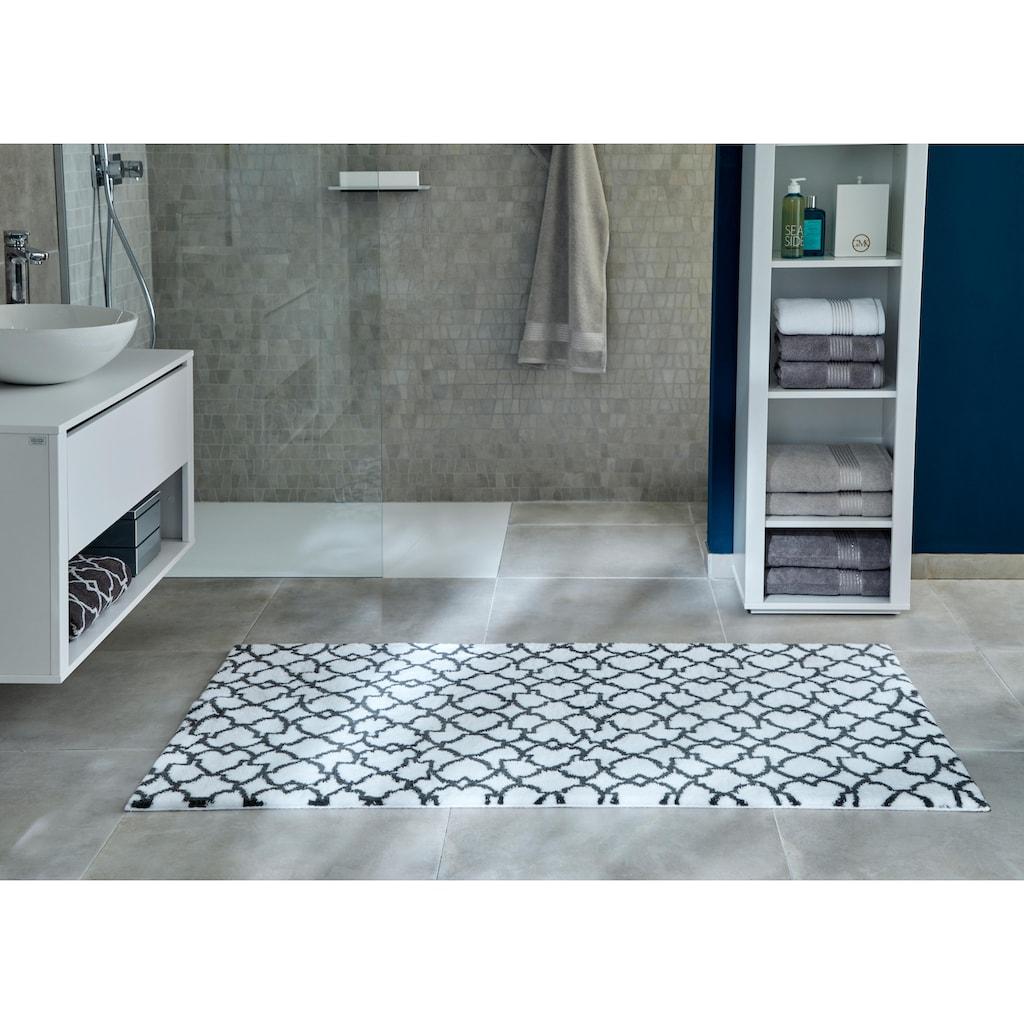 Badematte »Birdal«, Guido Maria Kretschmer Home&Living, Höhe 15 mm, rutschhemmend beschichtet, fußbodenheizungsgeeignet