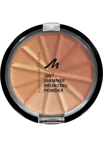 MANHATTAN Bronzer-Puder »3in1 Shimmer« kaufen