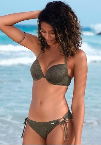 Buffalo Push-Up-Bikini, mit modischer Struktur kaufen