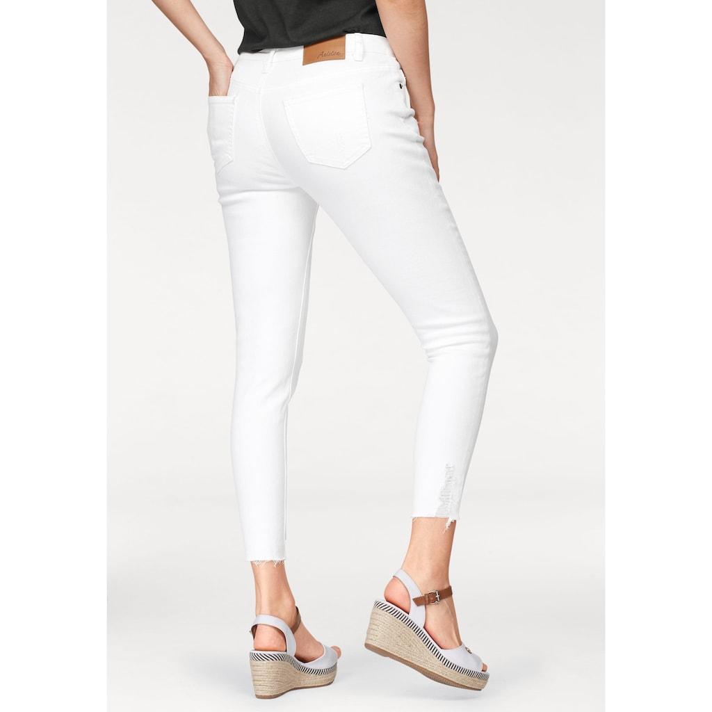 Aniston CASUAL Skinny-fit-Jeans, mit Destroyed-Effekt