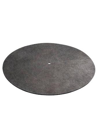 Hama Schallplattenmatte Plattenteller - Matte Auflage Carbonfaser »30 x 0,3 x 30 cm« kaufen