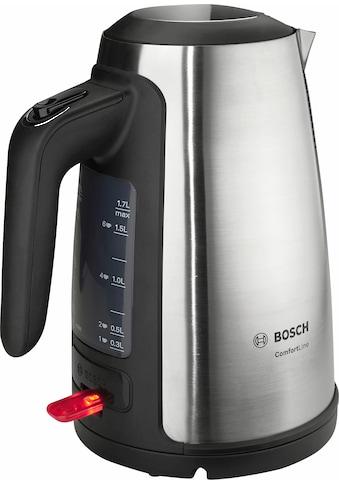 BOSCH Wasserkocher, ComfortLine TWK6A813, 1,7 Liter, 2400 Watt kaufen
