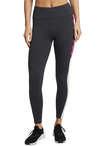 esprit sports Leggings, mit extra breitem Bund und tollem Colorblocking kaufen