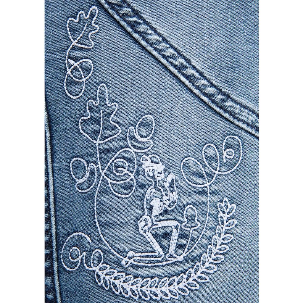 Hangowear Trachtenbermudas, mit Stickerei