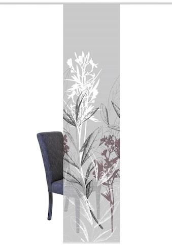 Vision S Schiebegardine »SEMORA«, HxB: 260x60, Schiebevorhang Bambusoptik Digitaldruck kaufen