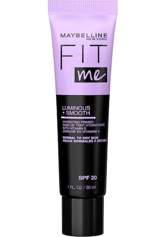 MAYBELLINE NEW YORK Primer »Fit Me Primer Luminous & Smooth« kaufen
