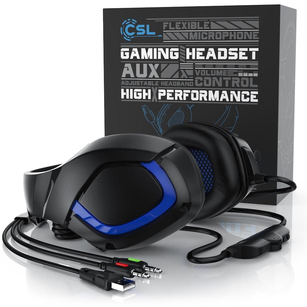 """CSL Gaming Headset """"GHS-103"""" mit Mikrofon"""