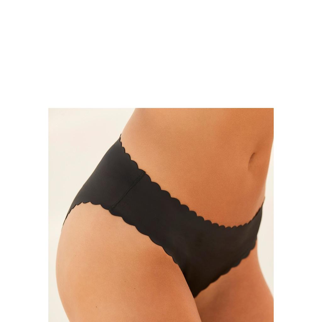 LASCANA Slip, mit extra flachen Kanten