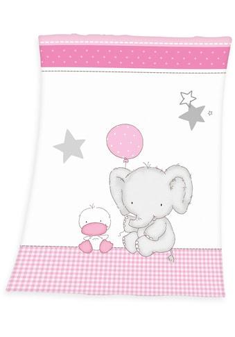 Babydecke »Fynn Elefant«, Baby Best kaufen