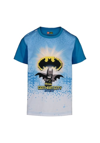 """LEGO® Wear Kurzarmshirt »CM-51315«, """"mit Batzeichen aus LEGO Steinen """"Gotham City"""""""" kaufen"""