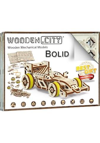 Wooden City Modellbausatz »Rennwagen Bolid«, aus Holz; Made in Europe kaufen