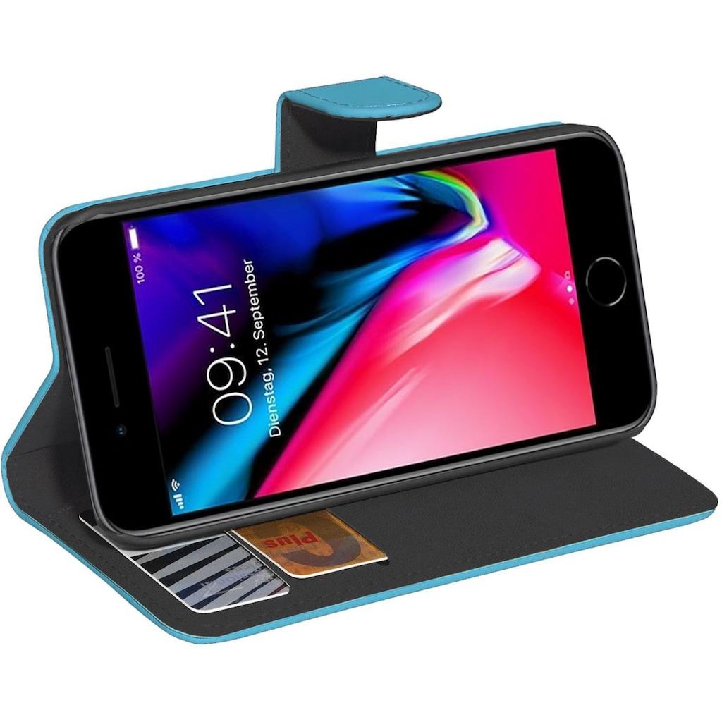 PEDEA Smartphone-Hülle »PEDEA Book Classic für Apple iPhone 8+«, iPhone 7/8 Plus, Cover