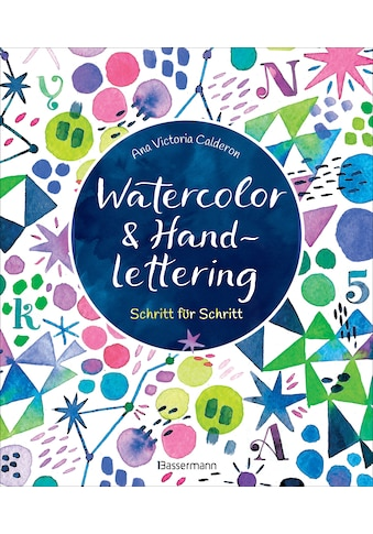 Buch »Watercolor & Handlettering. Motive aus der Tier- und Pflanzenwelt mit einfachen... kaufen