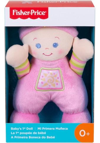 Fisher-Price® Stoffpuppe »Meine erste Puppe« kaufen