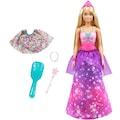 Barbie Anziehpuppe »Dreamtopia 2-in-1 Prinzessin & Meerjungfrau Puppe«