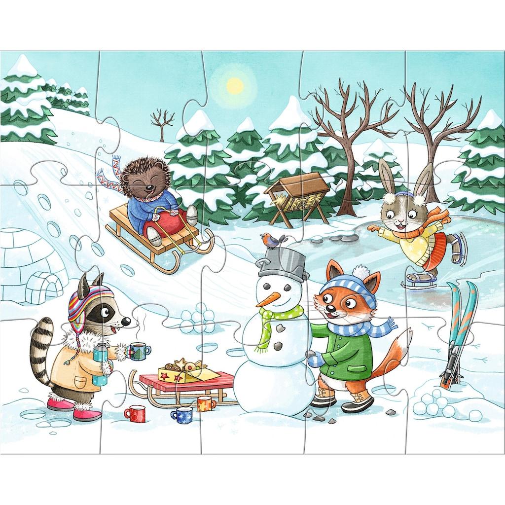 Haba Puzzle »Jahreszeiten«