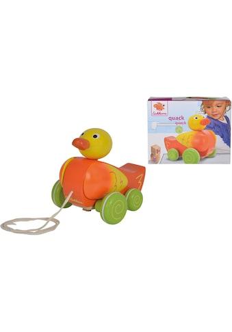 """Eichhorn Nachziehtier """"Ente mit 4 Rädern"""" kaufen"""