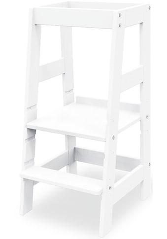 Pinolino® Stehhilfe »Lernturm Fino«, weiß lackiert; Made in Europe kaufen