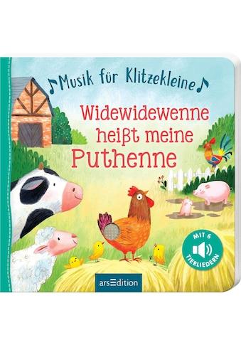 """Buch »Musik für Klitzekleine - Widewidewenne heißt meine Puthenne / Gerald """"Greulix""""... kaufen"""