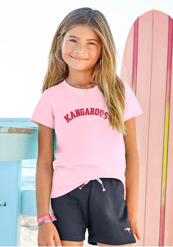 KangaROOS T-Shirt, mit Flockdruck kaufen