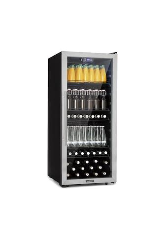 Klarstein Getränkekühlschrank 242L A+ Glas Edelstahl »Beersafe« kaufen