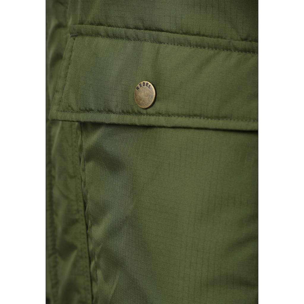 REDEFINED REBEL Winterjacke »Maher«, warme Jacke mit hochabschließendem Kragen