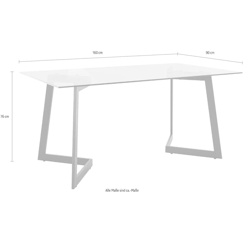 INOSIGN Esstisch »Tina«, Breite 160 cm